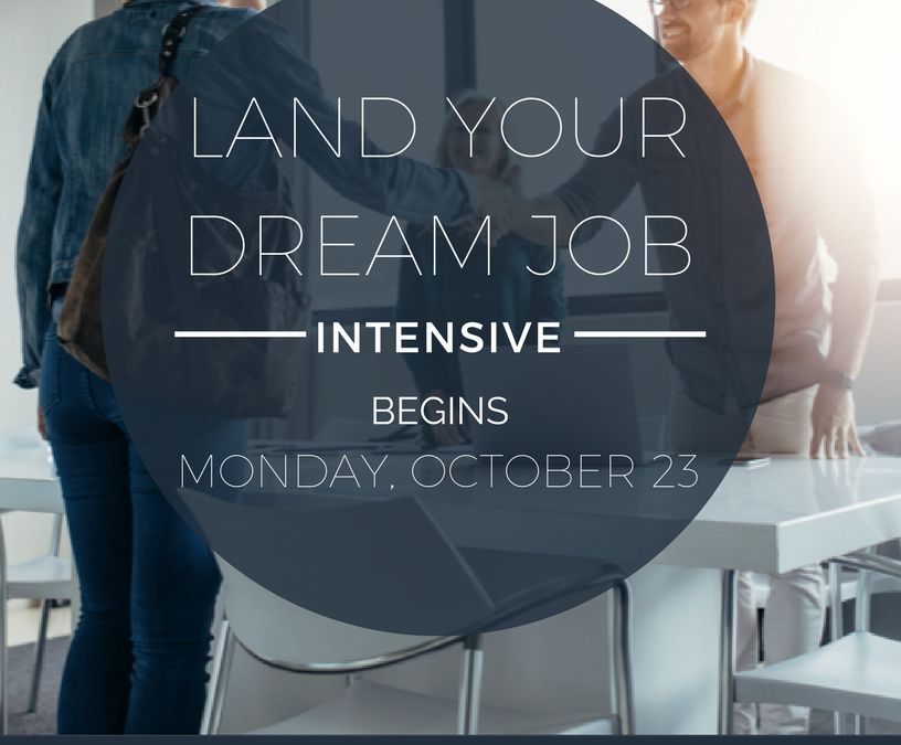 Land Your Dream Job Intensive
